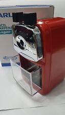 CARL Angel-5 Pencil Sharpener DESKTOP,  Great Sales (RED)