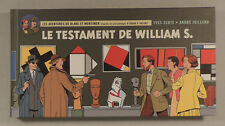 Blake Mortimer Testament de William S Juillard format italienne tirage limite