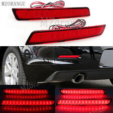 2X For Chevrolet Malibu Red 2013-2016 LED Brake Bulb Fog Lamp Rear Bumper Light
