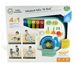 *NEW* Baby Einstein-4-In-1 Activity Walker Musical Mix 'N Roll