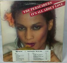 The persuaders It's All About Love    LP Record