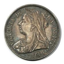 Great Britain Mature Draped Victoria - Brock Half Crown 1894 Toned Unc KM782