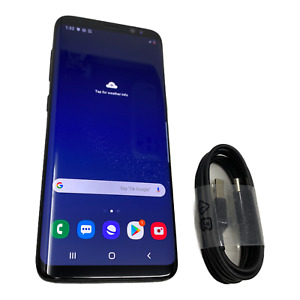 Samsung Galaxy S8 SM-G950W - 64GB - Midnight Black (Unlocked) Smartphone #1983