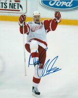 NICKLAS LIDSTROM SIGNED DETROIT RED WINGS 8x10 PHOTO #1 NICK Autograph