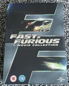 BRAND NEW AND SEALED - FAST & FURIOUS 7 Movie Collection DVD Box Set Free UK PP