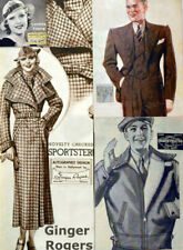 30s Vintage Fashion Furnishings Catalog_1935 SEARS_HOLLYWOOD MOVIE STARS_DRESS
