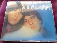 Sealed 2 CD : Sonny & Cher ~ The Singles + ~ BRMusic 85 8124-2