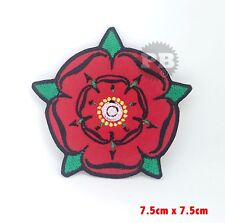 Red Rose Lancashire embroidered iron on sew on patch