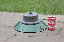 Vintage old industrial light enamel enamelled  light lamp  - FREE DELIVERY