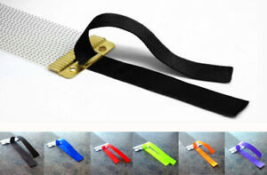 10 x Snare Wire Straps Snare Drum Ribbon Cord Throw Off Strainer Kit Accessories