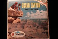 Grand Canyon South Rim Viewmaster 1960's w/3 Reels & Booklet EXCELLENT