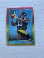2018 Donruss Optic Rated Rookies Red and Yellow James Washington #172 Rookie