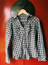Women's checkered shirt size 8 or S