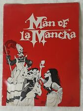 """Richard Kiley Signed """"Man Of La Mancha"""" 1972 Musical Souvenir Program +"""