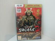 Total War Shogun 2 (Limited Edition) ~ PC DVD Strategy Game by SEGA *VGC*
