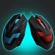 3D 1600DPI USB Wired Optical Gaming Mouse Mice For Laptop PC Desktop Computer