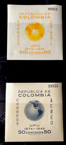 Colombia Stamp Sheet