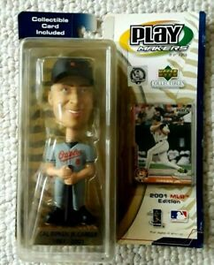 1981 - 2001 MLB Edition CAL RIPKEN JR Career BOBBLE HEAD DOLL. Playmakers NIB