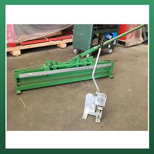 KOOLDUCT Manual Bending Machine 1200mm x 30mm Ductboard Ducting Notcher Notching