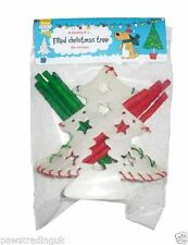Christmas Dog Munchy Hide Filled Christmas Tree Great Gift Puppy Treat Rawhide