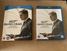 Casino Royale & Quantum of Solace Blu Ray NEW & SEALED with Slipcase 007 Rare !