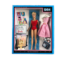 NEW Mattel Swirl Ponytail Barbie- My Favorite Barbie- 1964- 2009- Doll