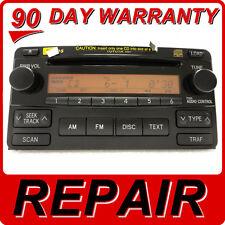 REPAIR SERVICE ONLY Toyota Matrix Radio 6 Disc Changer CD Player JBL OEM FIX