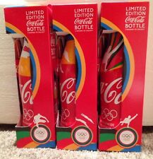 BNIB x3 collectable Coke Coca Cola bottles - Limited Edition Olympic London 2012