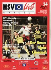 BL 91/92 Hamburger SV - Borussia Dortmund