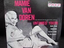 Mamie Van Doren - Untamed Youth 7 inch vinyl Oo Ba La Baby Go Go Calypso Rollin