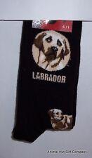 Yellow Labrador Dog Mens/Womens Socks
