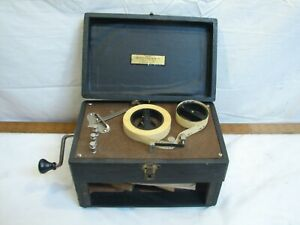 Vintage Instructograph Morse Code Telegraphy Teaching Training Machine