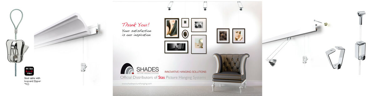 Shades Picture Hanging