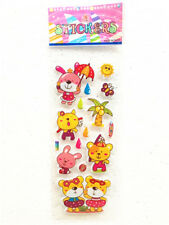 Rewards Kids Child Party Paper Crafts Gift Wall 1sheet Bears Stickers Teacher