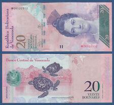 Venezuela 20 Bolivares 2013 UNC P. 91 F