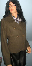 Old Navy~Hunter Green~Wool~Sexy~Military~Coat~Jacket~NWT~SZ LARGE!