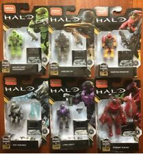 Mega Bloks / Construx - Halo Heroes Series 11 Complete 6 FIGURES NEW