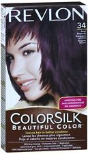 Revlon ColorSilk Hair Color 34 Deep Burgundy 1 Each (Pack of 2)