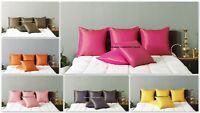 "Cushion Pillow Cover Silk Brocade Sofa Throw Home Decorative Floral Pillow 16"""
