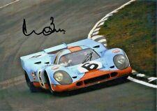 PORSCHE 917K Derek Bell / Jo Siffert BRANDS HATCH 1971 HAND SIGNED by DEREK