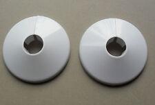 2 TUBO RADIATORE COLLARI, Plastica Bianca Pavimento copre per adattarsi 15mm condotte, oracstar