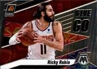 2019-20 Panini Mosaic Give and Go #12 RICKY RUBIO Suns