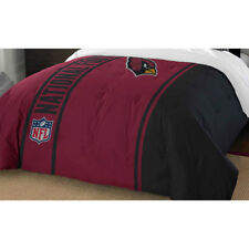NFL ARIZONA CARDINALS FULL COMFORTER - Football Helmet Silhouette Sports Bedding