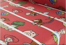 Disney Toy Story 4 Cot Bed Fitted Sheet 70cm x 140cm Good condition
