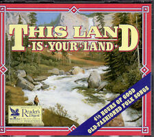 This Land Is Your Land - Reader's Digest 4 CD Box - 98 Folk Songs 4 1/2 Hours
