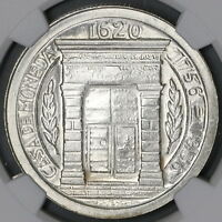 1956 NGC MS 65 Colombia Peso 200th Year Popayan Mint Silver Coin (18120102C)