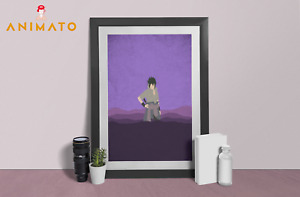 Naruto Poster Itachi Baruto Anime NEW Manga Wall Art print design Size A4 A3 A2