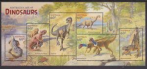 2013 Australia's Age of Dinosaurs - MUH Mini Sheet