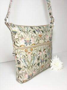 UK Handmade Cross-body, Adjustable Lined Oilcloth Bags Classic Theme Fabrics