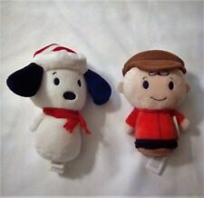 Hallmark Peanuts Itty Bitty's Charlie Brown & Snoopy Collector's Set (2016)